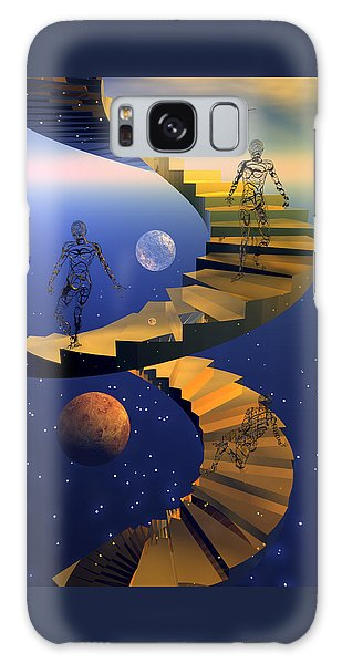Stairway To Imagination Galaxy Case