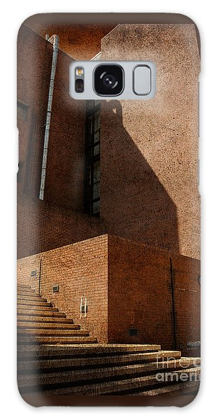 Stairway To Nowhere Galaxy Case by Lois Bryan