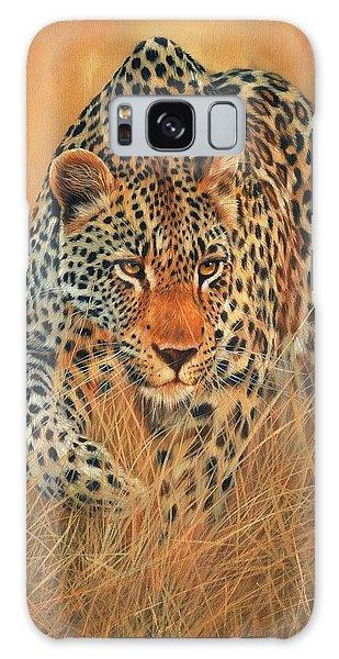 Stalking Leopard Galaxy Case