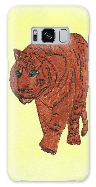 Stalking Tiger Galaxy Case by Tracey Williams