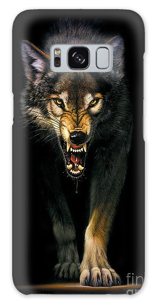Stalking Wolf Galaxy Case by MGL Studio - Chris Hiett