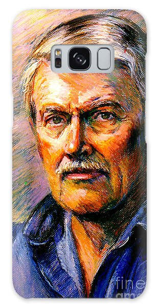 Stan Esson Self Portrait Galaxy Case
