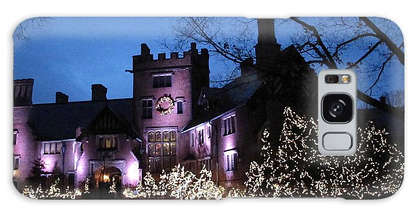 Stan Hywet Hall And Gardens Christmas  Galaxy Case