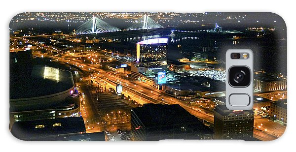 Stan Musial Bridge In St Louis Mo Dsc03215 Galaxy Case