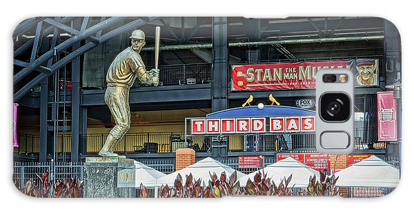 Stan Musial Statue At Busch Stadium St Louis Mo Galaxy Case by Greg Kluempers