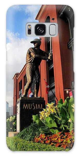 Stan Musial Statue Galaxy Case