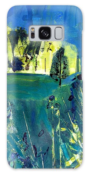Stand Of Trees In Distance Galaxy Case by Betty Pieper