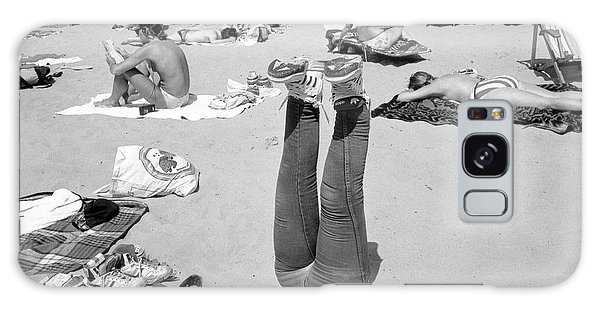 Sand Galaxy Case - Standing (from The Series manly) by Dieter Matthes
