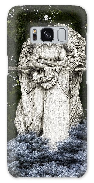 Cemetery Galaxy Case - Standing Guard by Tom Mc Nemar