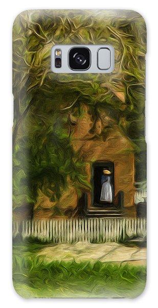Standing In The Doorway Galaxy Case