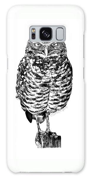 041 - Owl With Attitude Galaxy Case