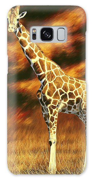 Standing Tall Galaxy Case