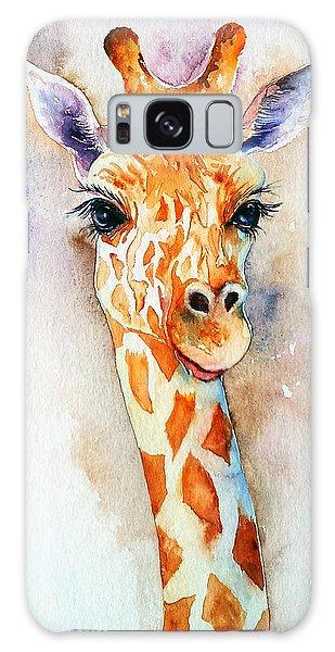 Standing Tall_giraffe Galaxy Case