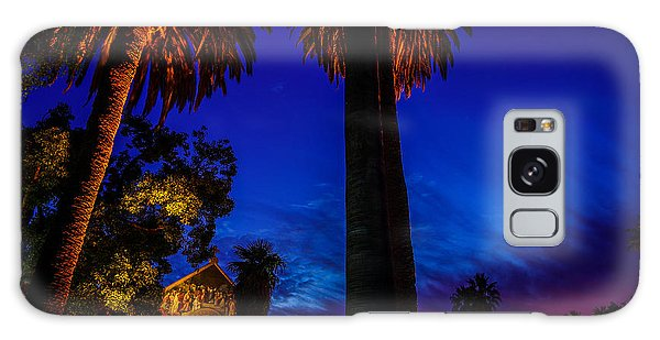 Stanford University Memorial Church At Sunset Galaxy Case by Scott McGuire