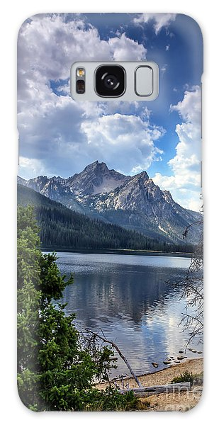 Haybale Galaxy Case - Stanley Lake View by Robert Bales