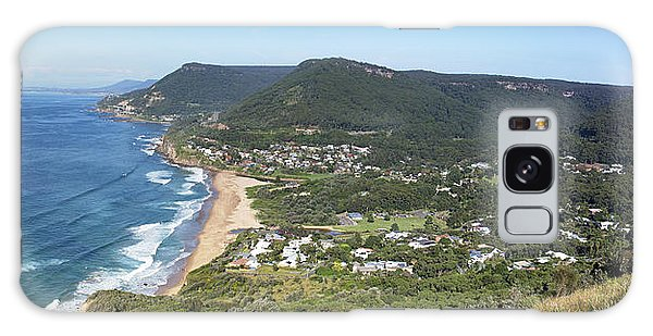Stanwell Park Panorama Galaxy Case