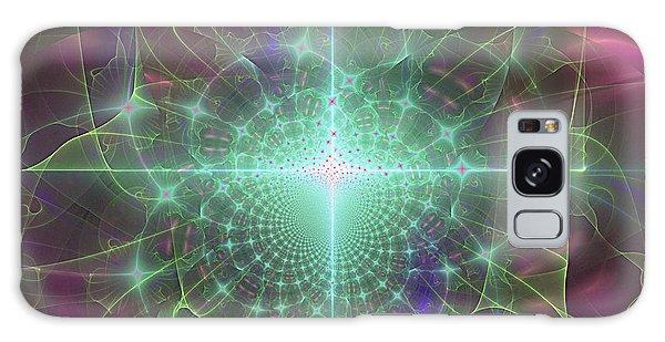 Star 5 Galaxy Case by Ursula Freer