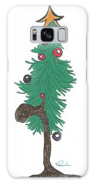 Star Christmas Tree Galaxy Case