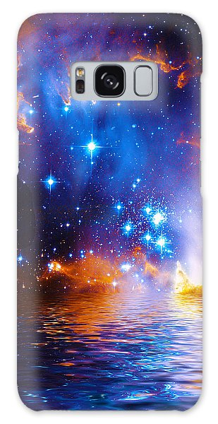 Stars As Diamonds Galaxy Case by Chuck Mountain