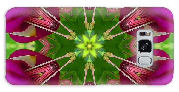 Star Fuchsia 1 Mandala Galaxy Case