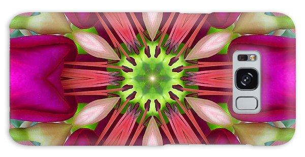 Star Fuchsia 3 Mandala Galaxy Case