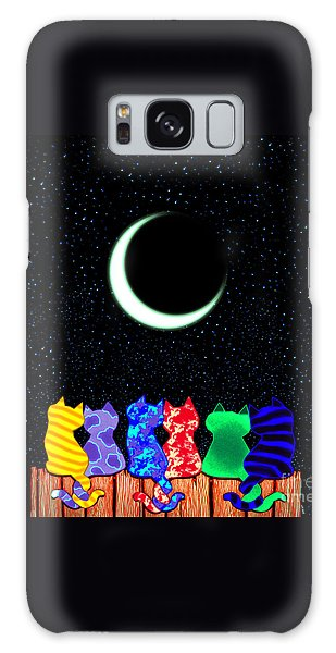Star Gazers Galaxy Case by Nick Gustafson