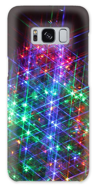 Star Like Christmas Lights Galaxy Case by Patrice Zinck
