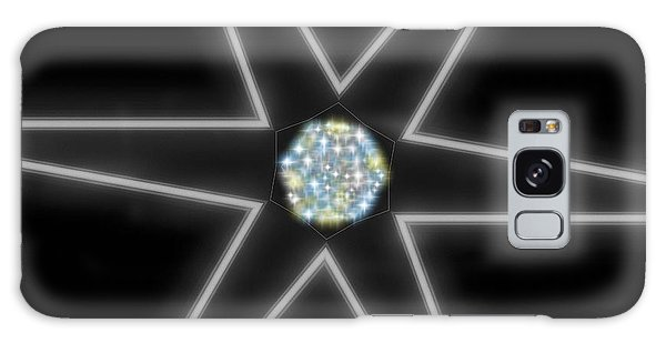 Star Of Creation Digital Art By Saribelle Rodriguez Galaxy Case