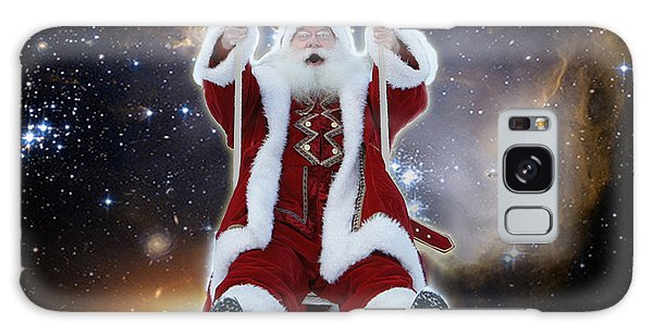 Santa's Star Swing Galaxy Case