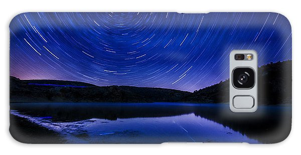 Star Trails Galaxy Case