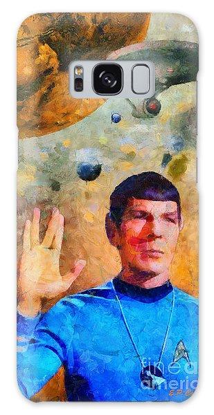 Star Trek-leonard Nimoy Galaxy Case