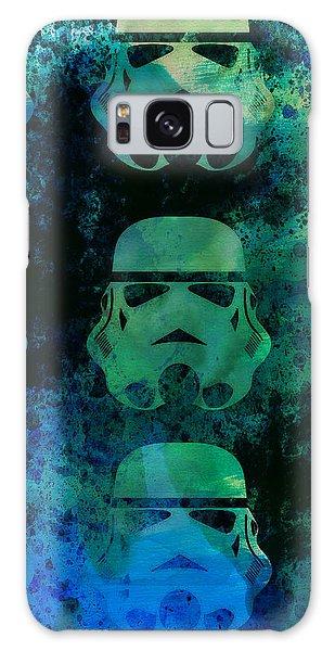 Nerd Galaxy Case - Star Warriors Watercolor 1 by Naxart Studio
