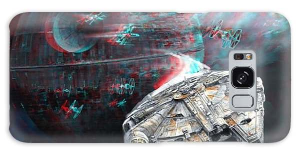 Star Wars 3d Millennium Falcon Galaxy Case by Paul Van Scott