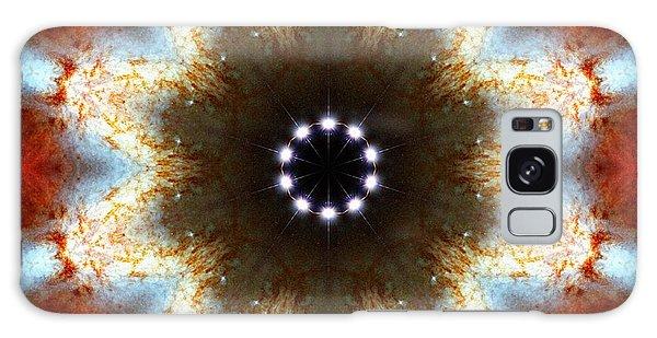 Galaxy Case featuring the photograph Starburst Galaxy M82 I by Derek Gedney