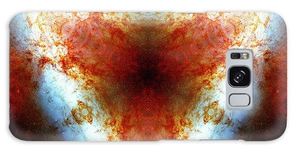 Galaxy Case featuring the photograph Starburst Galaxy M82 Vi by Derek Gedney