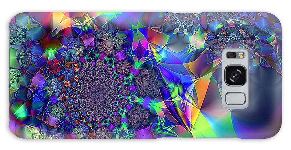 Starcluster 1 Galaxy Case by Ursula Freer