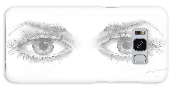 Stare Galaxy Case by Terry Frederick