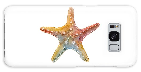 Lives Galaxy Case - Starfish by Amy Kirkpatrick