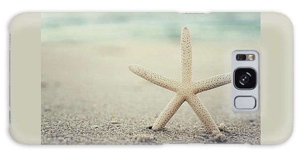 Starfish On Beach Vintage Seaside New Jersey  Galaxy Case