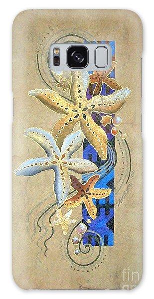 Starfish On Blue Masi Galaxy Case