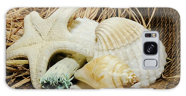 Starfish Shells And Driftwood Galaxy Case by MaryJane Armstrong