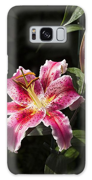 Stargazer Bloom And Bud Galaxy Case