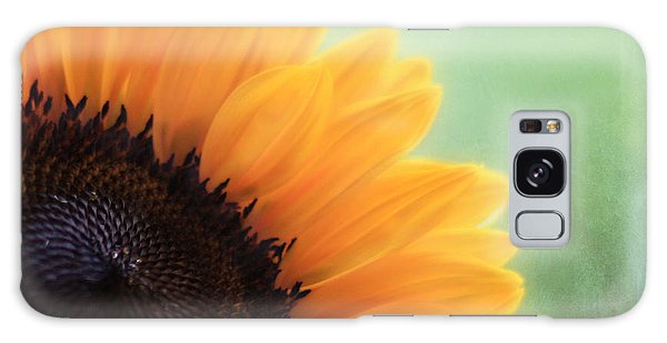 Sunflower Galaxy S8 Case - Staring Into The Sun by Amy Tyler