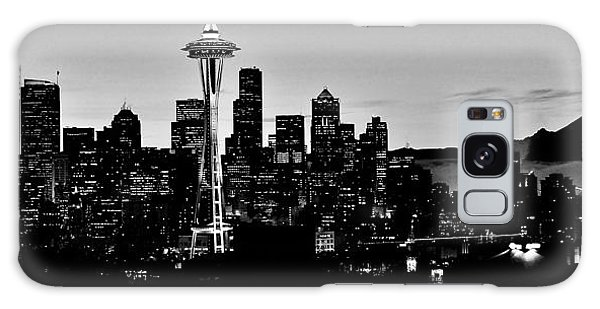 Stark Seattle Skyline Galaxy Case