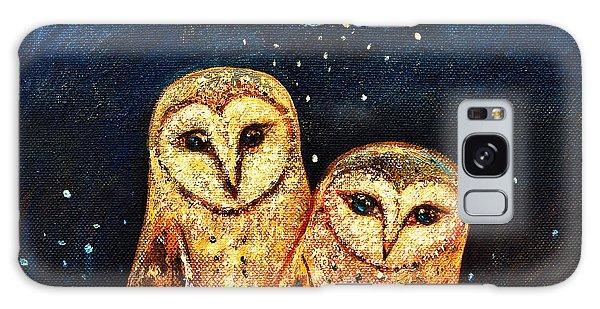Owl Galaxy Case - Starlight Owls by Shijun Munns