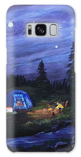 Starry Night Campers Delight Galaxy Case