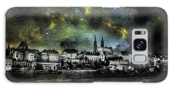 Starry Night Over Basel Switzerland Galaxy Case