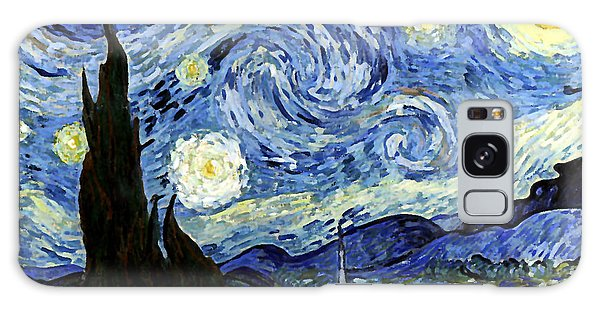 Starry Night Reproduction Art Work Galaxy Case