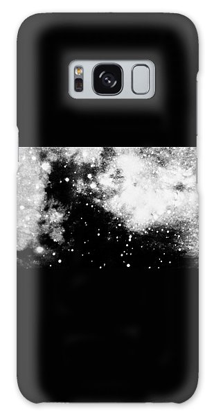 Stars And Cloud-like Forms In A Night Sky Galaxy Case