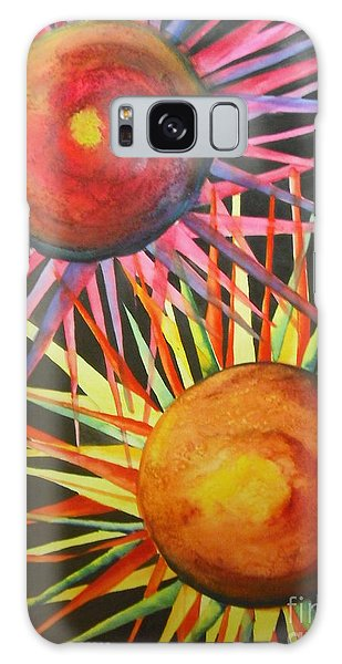 Stars With Colors Galaxy Case by Chrisann Ellis